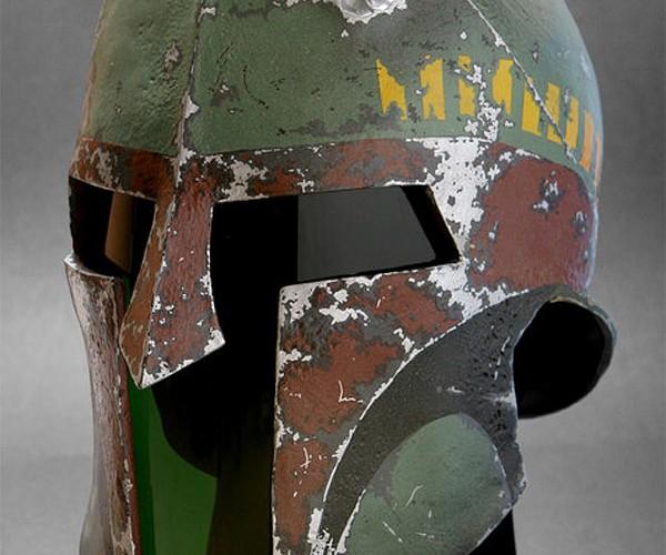 Boba Fett Spartan Helmet: This is BOBAAA!!!