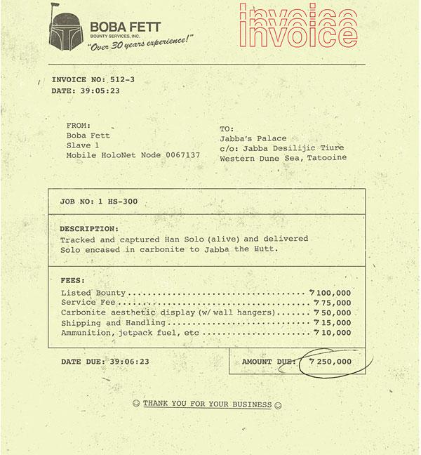 boba's invoice by brock davis