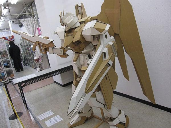 cardboard gundam 3