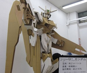Cardboard Gundam: Too Awesome for Words