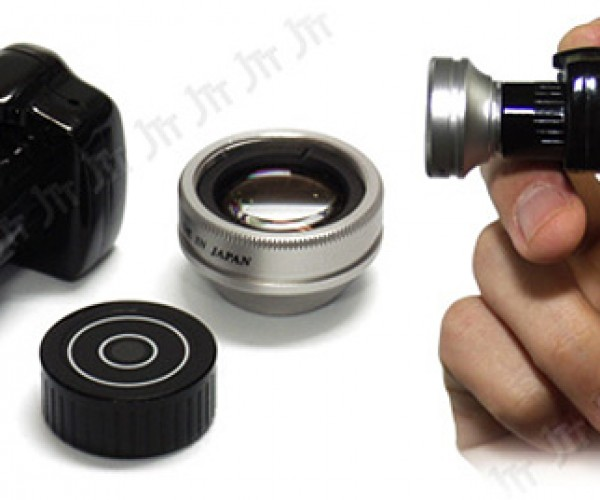 Chobi Cam One Toy DSLR: Big Price for Small Size