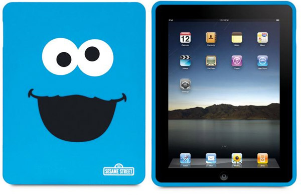 cookie monster ipad case