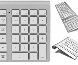 Cropmark Bluetooth Numeric Keypad Matches Your Mac