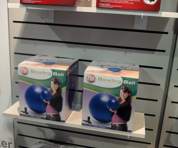 CTA Bowliing Ball for Kinect, Wiimote, Move Strikes Out