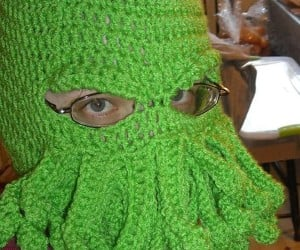 Cthulhu Ski Hat: Stay Warm in Your Nightmare