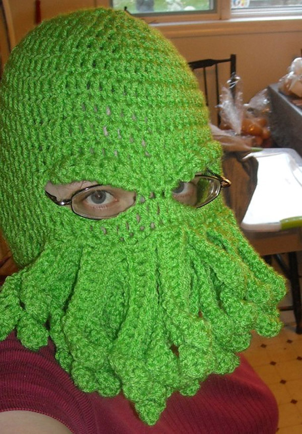 Cthulhu Ski Hat Stay Warm In Your Nightmare Technabob