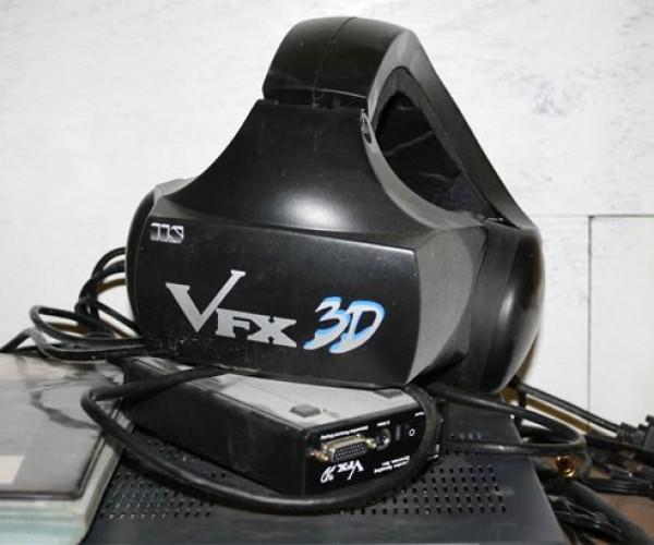 Rare VFX 3D Virtual Reality Helmet Turns Up on eBay