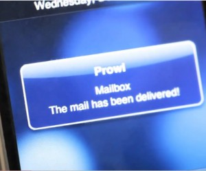 DIY iPhone Snail Mail Notifier: Doesn't Filter Spam Though
