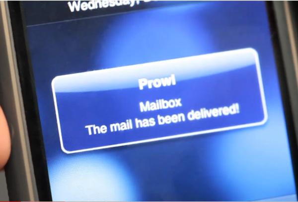 diy snail mail notifier