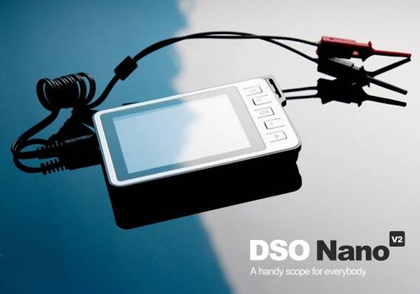 dso nano pocket oscilloscope