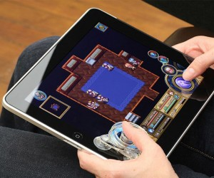 Fling iPad Joystick Adds Tactile Feedback to iPad Games
