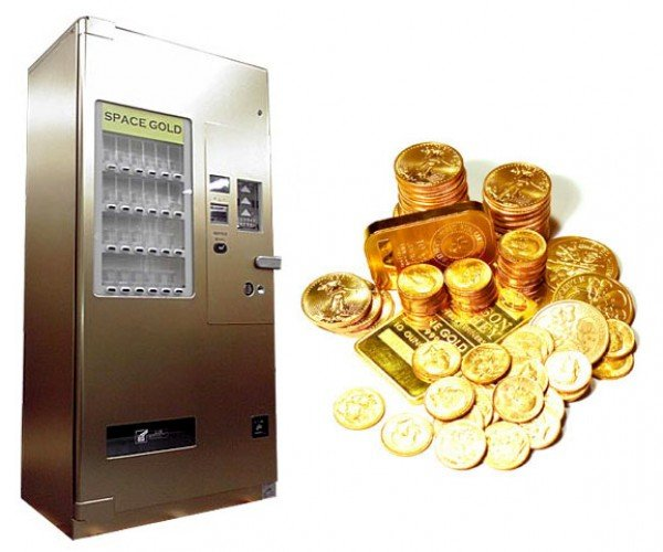Precious Metal Vending Machines: Preferred by Robbers 2-to-1 Over ATMs