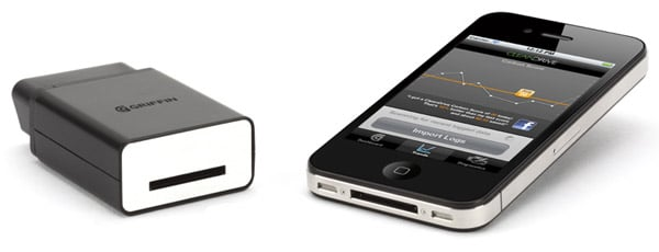 griffin cartrip iphone obd ii interface