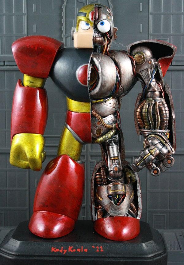 gutsman anatomy statue by kodykoala