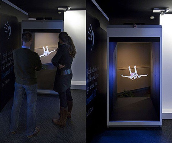 Holocube Now Big Enough to Project a Human-Size Hologram