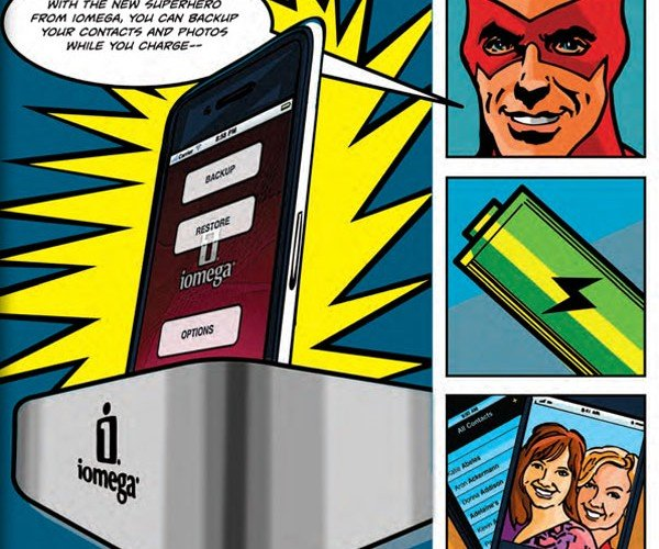 iomega superhero iphone dock 6
