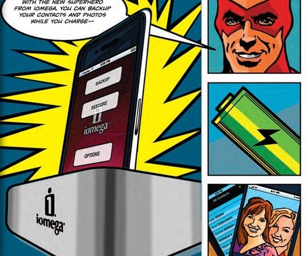 iomega superhero iphone dock 6