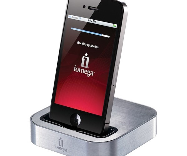 Iomega SuperHero Dock Literally Saves iPhone Photos and Contacts