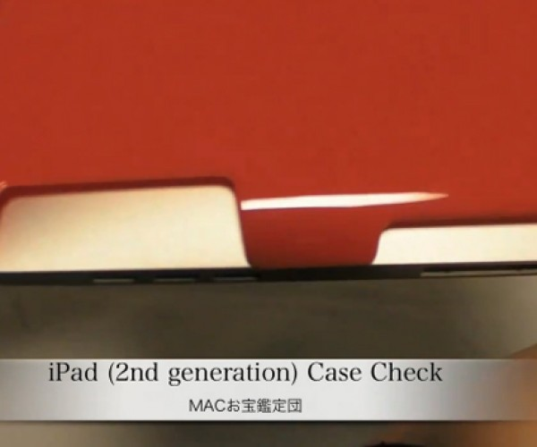 Alleged iPad 2 Case Sports Mystery Holes