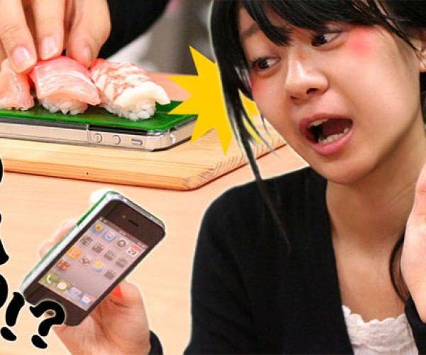 iPhone 4 Sushi Cases: Delectably Weird