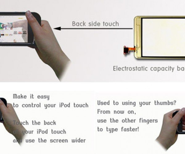 Touch UI Back Touch Adds Second Touchpad to iPhone