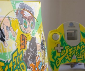 Jet Set Radio Dreamcast Custom Paintjob is Off the Rails