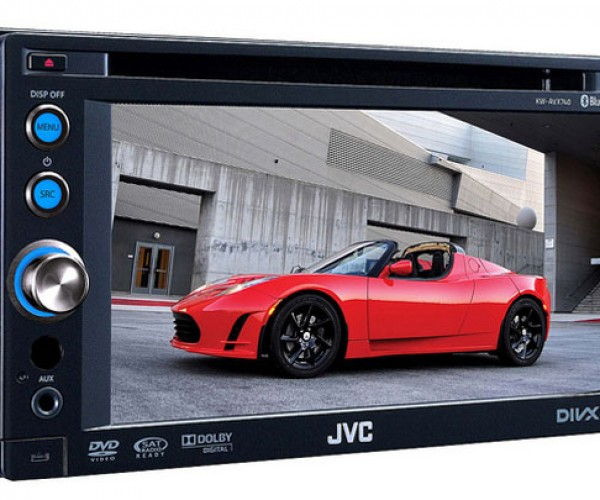 JVC Shows Off Sweet 7-inch Touchscreen Car Stereo at CES