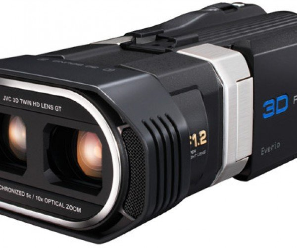 JVC Everio Camera Shoots 3D in Full HD, Empties Bank Accounts