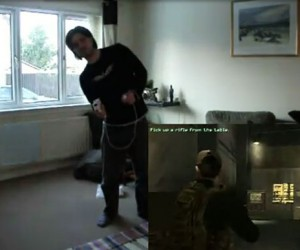Epic Geek Mashup Uses PC, Kinect and Wii Controls