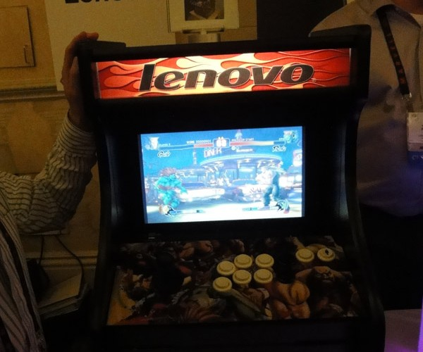 Lenovo Outs Laptop Arcade Casemod at CES