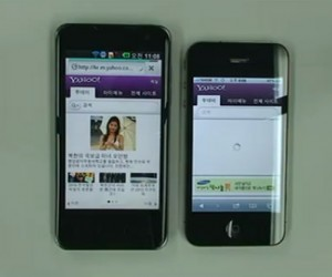 LG Optimus 2X Web Browser Speeds By iPhone 4