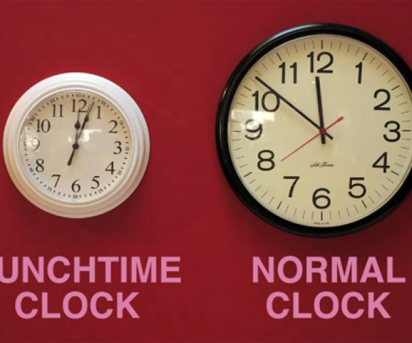 Lunchtime Clock Hack is Pure Genius, Will Inevitably Get You Fired