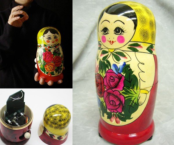 Matryoshka + Theremin = Matryomin