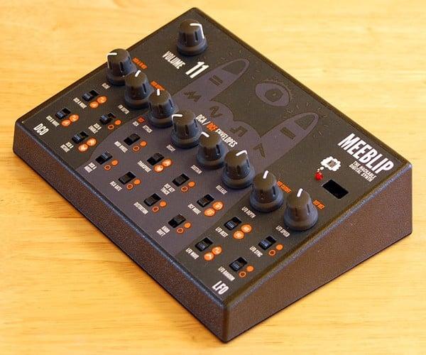 MeeBlip Synthesizer Kit Encourages Hacking