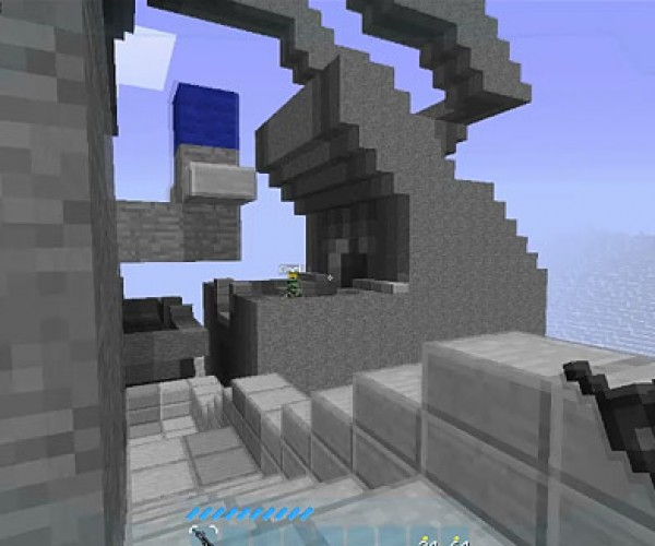 Halo Minecraft: FPS Demake of the Day