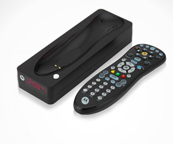 Motorola R331 Remote Control is Rechargeable, Findable