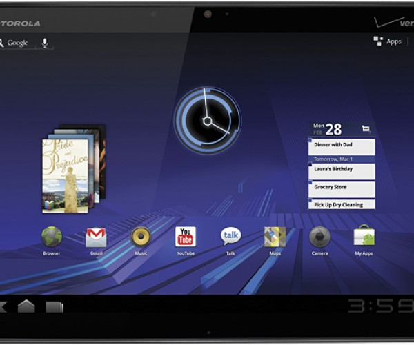 Motorola XOOM Tablet Specs Revealed: First to Taste Android 3.0 Honeycomb