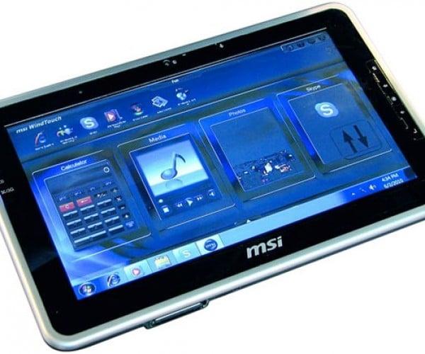 MSI WindPad 100W Windows Tablet Ships