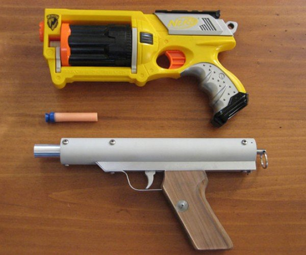 DIY Nerf Gun is Way Cooler than Store-Bought Nerf Weapons