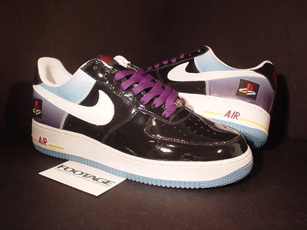 7abf83310010 Nike Air Force 1 PlayStation Sneakers  Shoes Only a Collector Could Love
