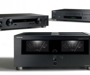 Onkyo Debuts Cool Retro Style Audio Gear