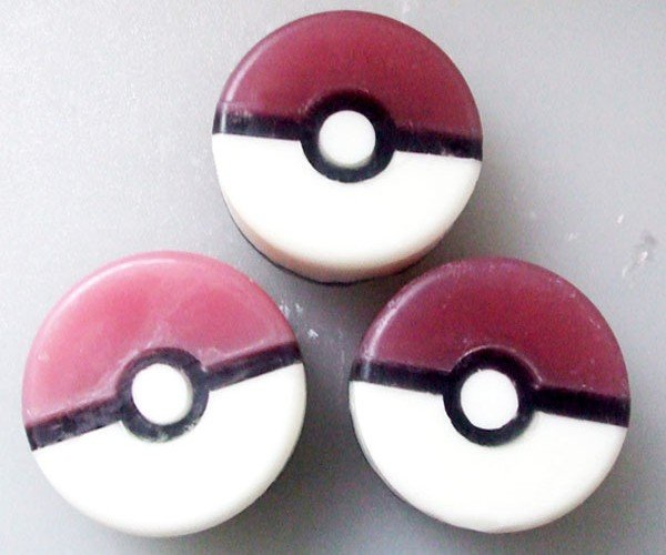 choose cleanliness with the pokéball soap