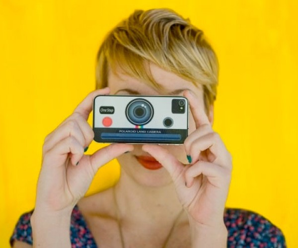 Polaroid iPhone Decal Brings Back the Instant Camera