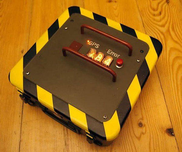 GPS Treasure Box Will Only Open Up in Specified Location