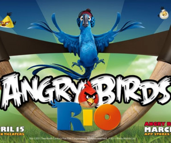 Angry Birds Rio Game Coming in March