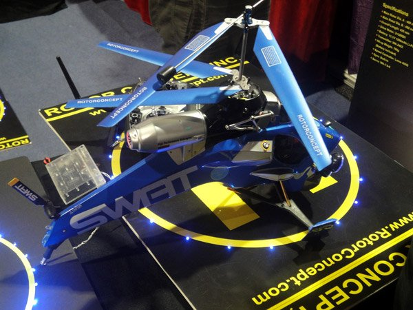 rotor concept swat copter 2