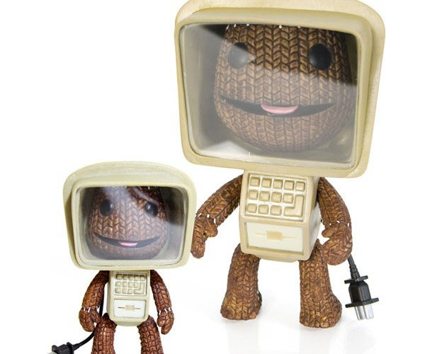 Sackboy Computer Action Figure: He's a PC.
