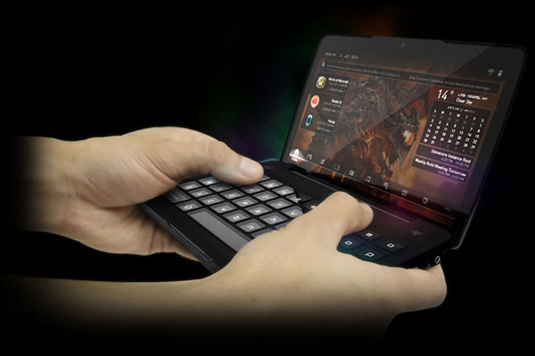 razer switchblade is an awesome portable gaming concept technabob. Black Bedroom Furniture Sets. Home Design Ideas