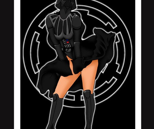 Star Wars Pinups: Yeah, I'm Confused Too