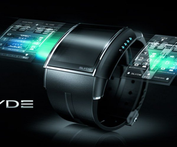 Slyde HD3 Watch: High-End Digital Watch Offers Swappable Faces